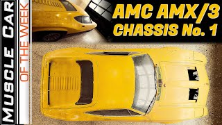 AMC AMX/3 At MCACN - Muscle Car Of The Week Episode 362