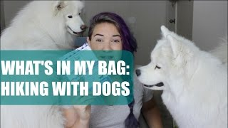 What's in my Bag: Hiking with Dogs