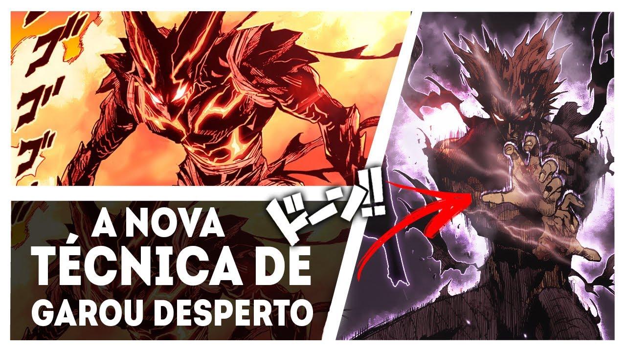 A NOVA HABILIDADE DE GAROU CAPAZ DE DESTRUIR UM NÍVEL DEUS - ONE PUNCH MAN 147