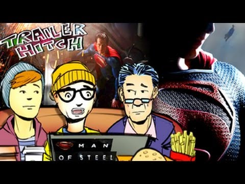 The Superman Curse - Man of Steel Trailer Review