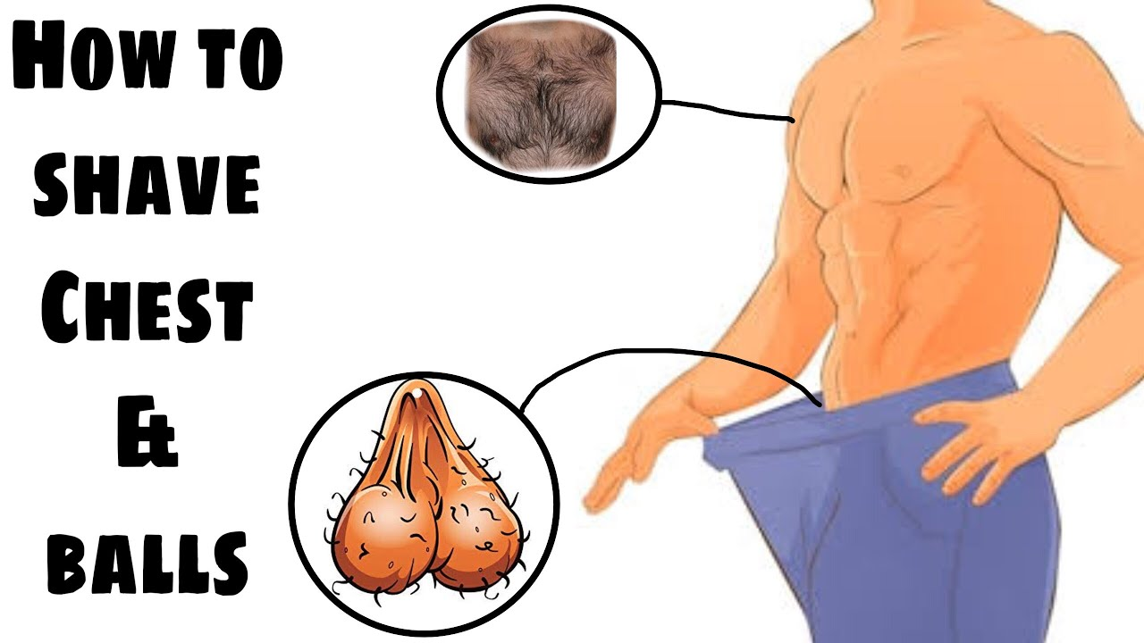Remove to testicles from best way hair pubic How To