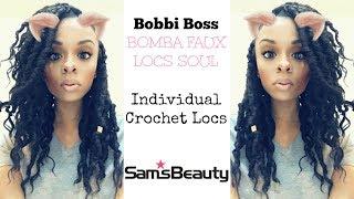 "Bomba Faux Locs Soul 12"" INDIVIDUAL GODDESS CROCHET LOCS | SAM'S BEAUTY Mp3"