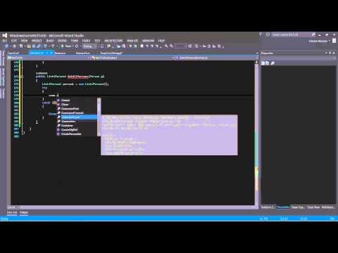 C# WCF SELECT - MS SQL