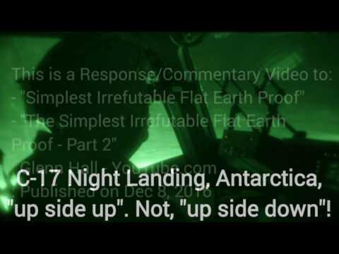 """Flat"" Earth: Response to Glenn Hall, 8 DEC 2016"
