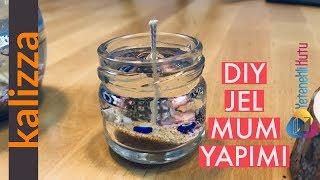 DIY Jel Mum Yapımı