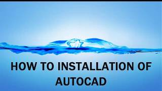 HOW TO INSTALL AUTO CAD / AUT K TRIKAOCAD INSTALLATION KRNY
