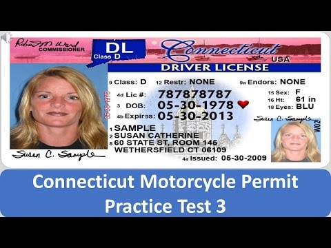 Connecticut Motorcycle Permit Practice