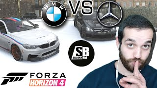 Forza Horizon 4 - BMW VS Mercedes - და სხვები 😂 🚗
