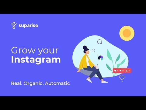 Suparise - Instagram growth (Real