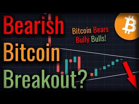 Bitcoin Triangle Threatens To Crash Bitcoin - Will It?