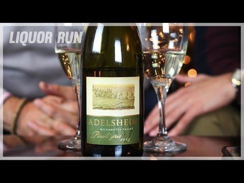 Trying An Oregon-Made White Wine | Liquor Run