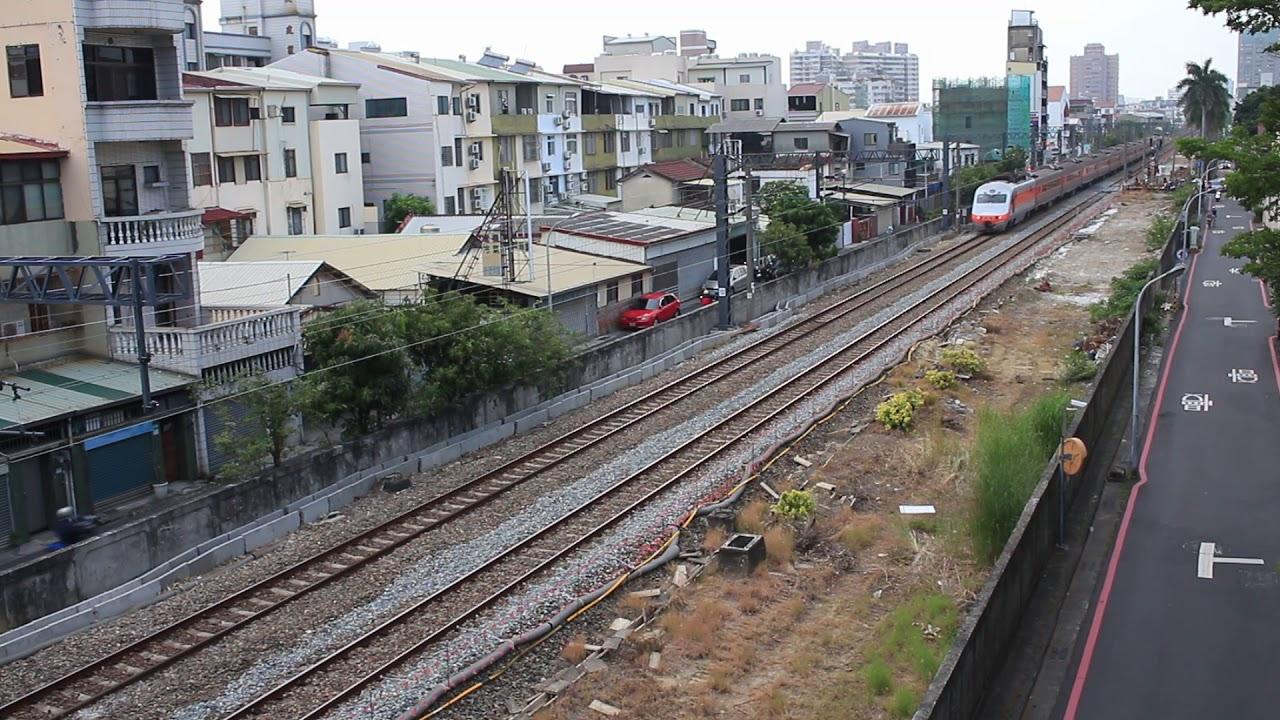 南鐵地下化施工路段(林森路段) 部分原電桿拆除(2) - YouTube