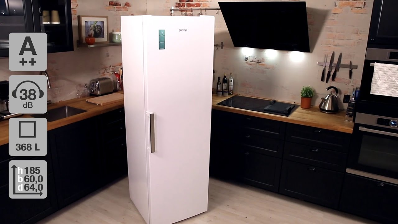 Gorenje Kühlschrank R 6192 Fw : Gorenje r fw køleskab youtube
