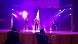 20181215 K-POP STAGE 第二屆高中韓研舞蹈比賽 新北韓研 Stray Kids(스트레이 키즈) - District 9 + BTS(반탄소년단) - MIC Drop