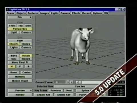 Amiga Lightwave 3D Quickstart