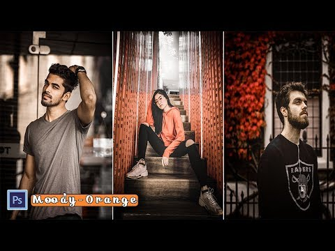Moody Orange Color Tone Effect | Photoshop Editing Tutorial thumbnail