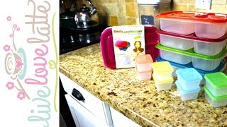 How I Pack a Healthy Lunch with Easy Lunchboxes {review} + Tour of Sommet Fitness & Pilates Studio
