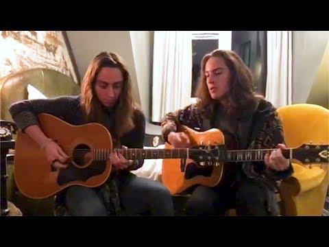 Jake and Sam Kiszka from Greta Van Fleet