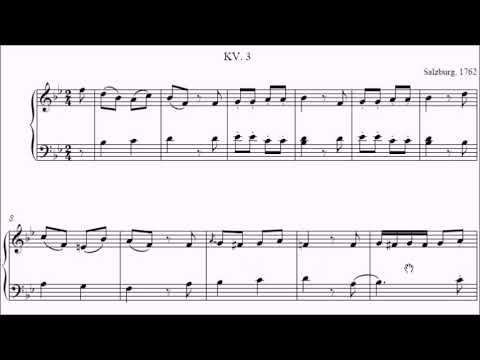HKSMF 71st Piano 2019 Class 104 Grade 2 Mozart Allegro in B Flat K3 Sheet Music 校際音樂節