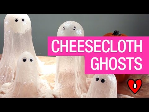 How To Resin Halloween Ghosts