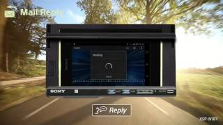 Sony XSP-N1BT Smartphone Cradle Car Audio Deck