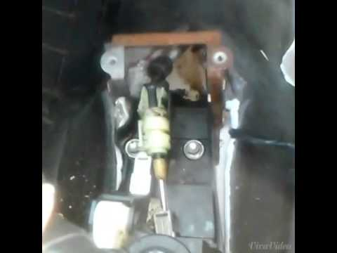 Broken Shift Cable Linkage 2004 Chevy Cavalier video - YouTube