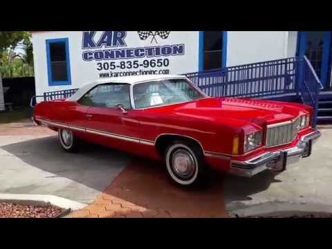 1974 Caprice Convertible @ karconnectioninc.com Miami
