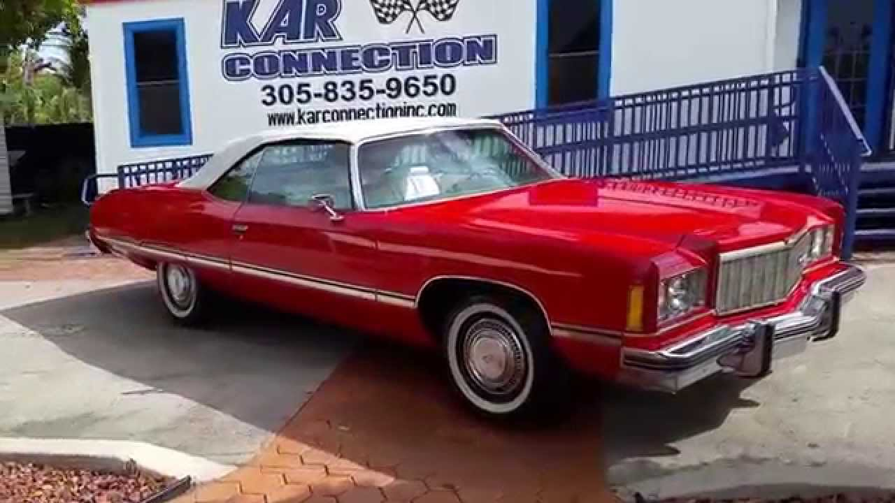 1974 Caprice Convertible  karconnectioninccom Miami  YouTube