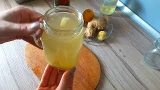 Как приготовить ИМБИРНЫЙ ЧАЙ / Чай для Похудения / Имбирный чай от простуды