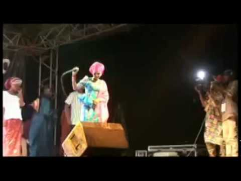 HAUWA FULLOU live performance in a concert at Cameroon [Hauwa Fullou Yar Fulanin Gombe]