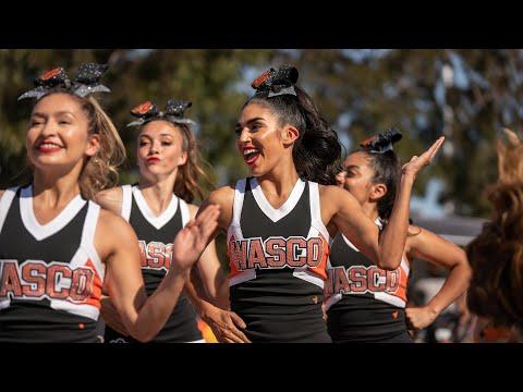 Homecoming Rally Cheer Performance | Wasco High School