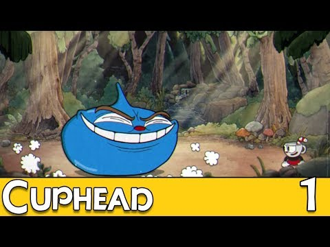 Vincent Plays Cuphead - EP1: Bad Voice Acting