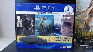 PS4 Slim 1TB Mega Pack Unboxing