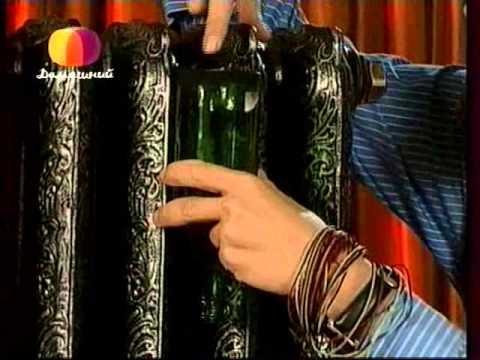 видео: Декоративные страсти с Маратом Ка 2008 Серебряное патинирование