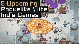 Top 5 Upcoming Roguelike / Roguelite Indie Games in 2018 / 2019 - Part 9
