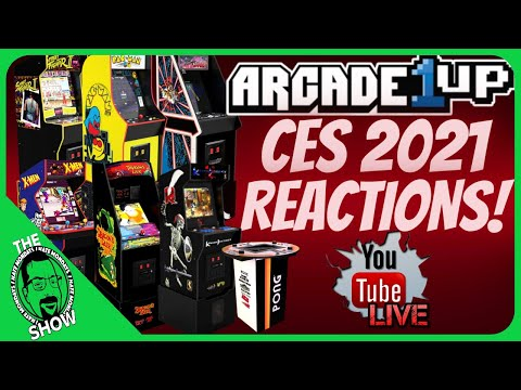Arcade1Up CES 2021 Announcement Reactions! Did They Hit A Homerun? from PDubs Arcade Loft