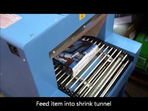 Shrink Wrap Machines - L-Sealer and Shrink Tunnel