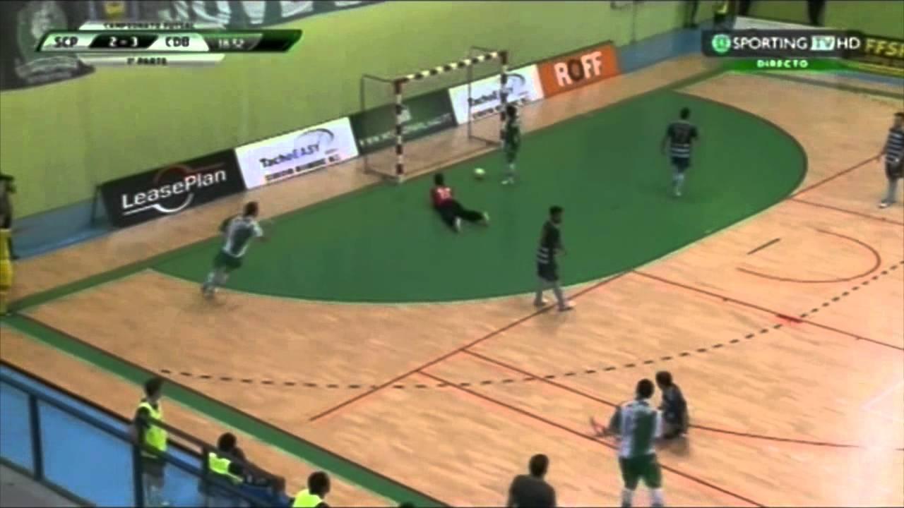 Futsal :: 03J :: Sporting - 7 x Burinhosa - 3 de 2014/2015