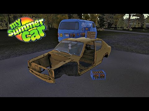 My Summer Car Gameplay- EP 1- Ultimate Driving and Building Sim!