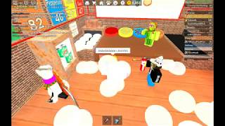 Playing to Crazines with GMD Corp! - Roblox Work at a Pizza Place