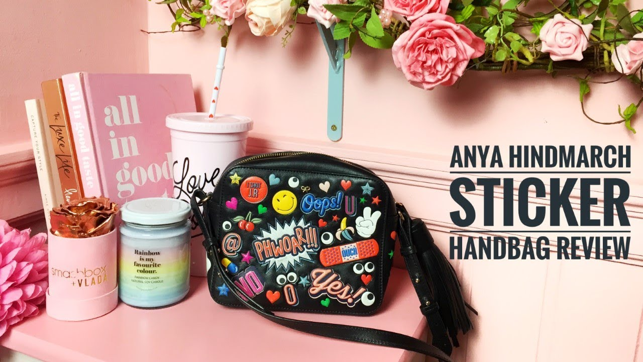 Anya Hindmarch Sticker Handbag Review And The Bargain Price I Paid For It