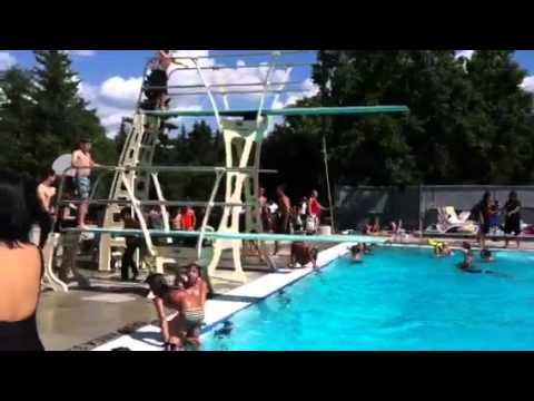 Fred Broadstock Outdoor Pool Youtube