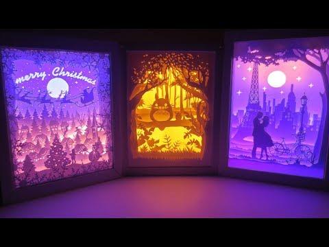 Papercut Lightbox NNT: Noel - Totoro - Love in Paris