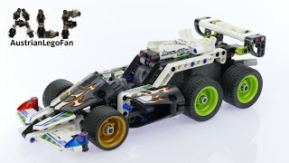 Lego Technic 42046 + 42047 Extreme Police Racer - Lego Speed Build Review
