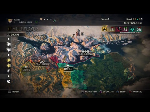 For Honor 18Oct2017