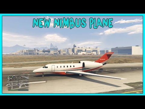GTA 5 Online DLC   New 'NIMBUS'' Plane Showcase! Finance & Felony DLC