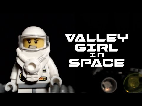 Valley Girl In Space - A Brickfilm Comedy Short