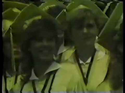 George J. Penney High School 1985 Graduation Ceremony. East Hartford, CT