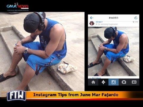 FTW: Instagram tips from June Mar Fajardo