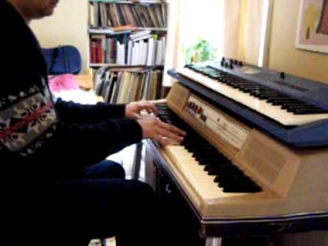 Stevie Wonder's Too High on Wurlitzer piano